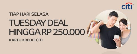 Citi Tueday Deal Maret 2017