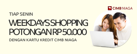 CIMB Weekday Shopping Maret 2017