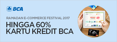 BCA Ramadan E-Commerce Festival June 2017