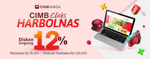CIMB Clicks  Harbolnas