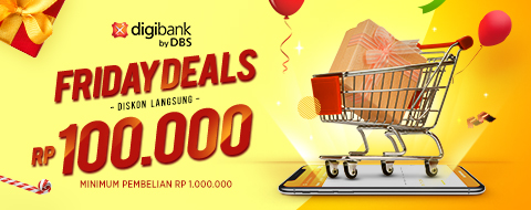 digibank Credit Card Friday Deals