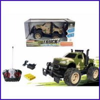 Mainan Mobil RC Jeep Army - Truck Super Power No.6144