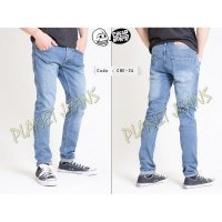 CHE24- celana jeans denim panjang pria model skinny cheap monday slim