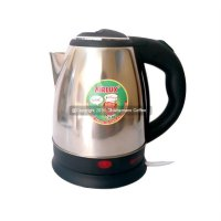 Airlux Water Kettle Electric Teko Listrik KE-8150SS 350 Watt 1.5 Lt