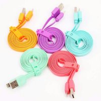 Kabel Data Vivan Warna Candy Iphone 5 / 5S / 6 / 6S 100CM