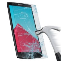 Anti Gores Kaca Tempered Glass LG Stylus 2 Clear Bening High Quality