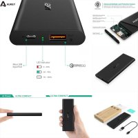 Aukey Quick Charge 2.0 20W Turbo Charger Powerbank 6000mAh PB-T6