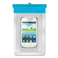 Zoe Waterproof Bag Case For Samsung Galaxy Young 2 SM-G130 - Biru