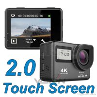 Sports Action Camera X5 Dual LCD Touch Screen WiFi 4K 16MP Ultra-HD