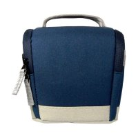 SDV MR-502C Canvas Tas Kamera Mirorrless - Biru