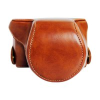 Leather Case for Fujifilm X-A3 - Brown