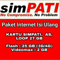 Paket Data Kuota Internet Telkomsel 27 GB 30 Hari