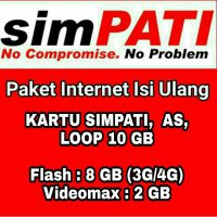 Paket Data Kuota Internet Telkomsel 10 GB 30 Hari