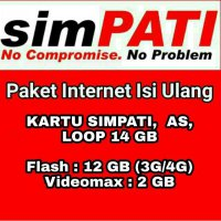Paket Data Internet Telkomsel 14 GB 30 Hari
