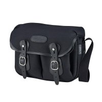 Billingham Hadley Small (Black/Black Leather) 100% Handmade in England