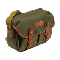 billingham Hadley Small (Sage/Tan Leather) 100% Handmade in England