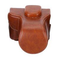 Third Party CAMWEAR Leather Case for Fujifilm X-T10 or X-T20 - Brown