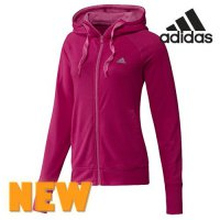 Adidas hooded zip-up / Women's zip-up hooded jacket Clearance Sale hooded prime / DM-G71023 / retail store