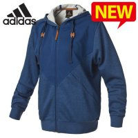 Adidas hooded jacket / nomajin special zip-up hooded knit hooded track top women / DM-L45921 / store that Wh