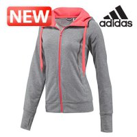 Adidas Hooded Tops / Women's hooded zip-up hooded zip-limited special prime zip-up jacket training / DM-G71021 / retail sales