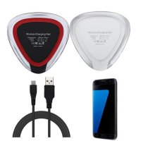 Qi Wireless Charger Charging Pad +Micro USB Power Cable For Samsung Galaxy S7/S7 Edge
