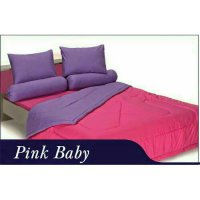 New Bedcover Polos Grand Shyra Pink Baby 180X200 Cm / Spf 481