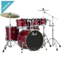 Pearl Export Exx726 6-Piece Drum Set With Free Tom 8' (Tanpa Cymbal)