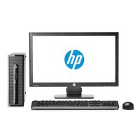 PC HP Prodesk 400 G3 SFF RESMI ( Intel®Core i3 6100-DDR4 4GB-500GB-18.5'-Windows 10) Non Touch