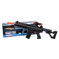 Otoys Vibration Submachine Gun Mainan Pistol Senapan - PA-G188876-229-11