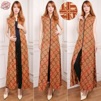 SB Collection Gamis Maxi Dress Deva Longdress Terusan Batik Wanita