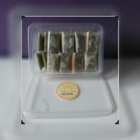 Masker Kefir Fortuna Green Tea Paket Box 30hr