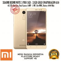 XIAOMI REDMI NOTE 3 PRO 3GB/32GB GOLD SNAPDRAGON 650 16 MP 4G LTE