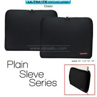 Ultimate Softcase / Tas Laptop Classic Plain 10 inch - Black