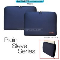 Ultimate Softcase / Tas Laptop Classic Plain 10 Inch - Dark Blue