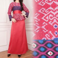 SB Collection Dress Maxi Faranisa Longdress Gamis Batik Wanita