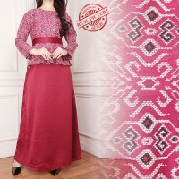SB Collection Dress Maxi Aznii Longdress Gamis Batik Wanita