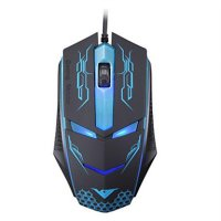 Rajfoo Terminator Professional Gaming Mouse 1600 DPI - Black