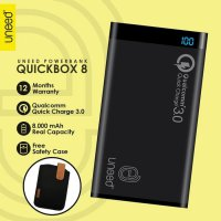 Uneed Powerbank 8000mAh Qualcomm Quick Charge 3.0 - QuickBox 8