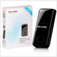 TP-LINK 300Mbps Wireless N Nano USB Adapter TL-WN823N - Black