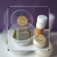Masker Kefir Fortuna Green Tea Paket Lengkap POT 10hr