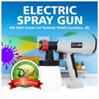 Electric Spray Gun 400 Watt Untuk Cat Tembok Mobil Furniture
