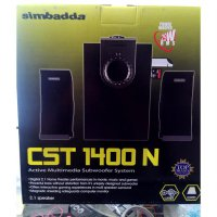Speaker Aktif Multimedia Simbadda CST1400N (USB, SD Card)