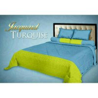 New Bedcover Set Fata Turquoise 180X200 / Spf 792