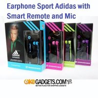 Stereo Earphone Sport Adidas CX-260i with Smart Remote and Mic