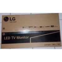 LED TV Monitor LG 24MT48 24' Hitam USB Movie