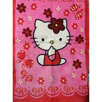 New Karpet Bulu Anak Motif Hello Kitty 100X140Cm / Spf 839