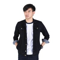 Jaket Pria Denim Jeans Couple - BE 065| AMO Store