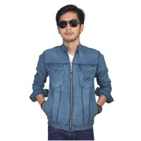 Jaket Pria Denim Jeans Couple - BE 054| AMO Store