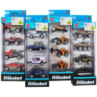 DIE CAST MODEl CAR ISI 4PCS