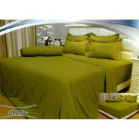 New Bed Cover Vallery Quincy Green 180X200 Tinggi 30Cm / Spf 912